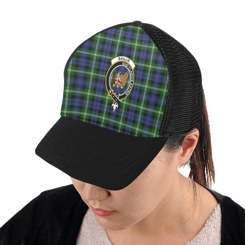 Baillie Modern Tartan Trucker Hat All Over