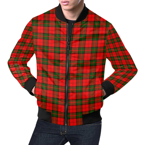 Dunbar Modern Tartan Bomber Jacket | Scottish Jacket | Scotland Clothing