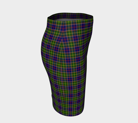 Tartan Fitted Skirt - Ayrshire District | Special Custom Design