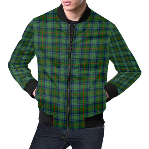 Image of Cranstoun Tartan Bomber Jacket | Scottish Jacket | Scotland Clothing