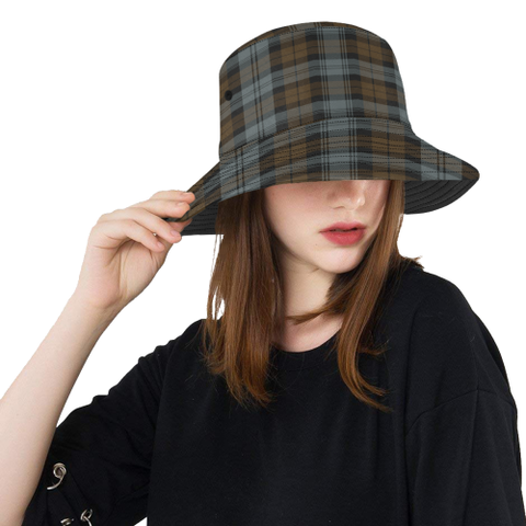 Blackwatch Weathered Tartan Bucket Hat for Women and Men | Scottishclans.co