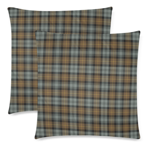 Gordon Weathered decorative pillow covers, Gordon Weathered tartan cushion covers, Gordon Weathered plaid pillow covers