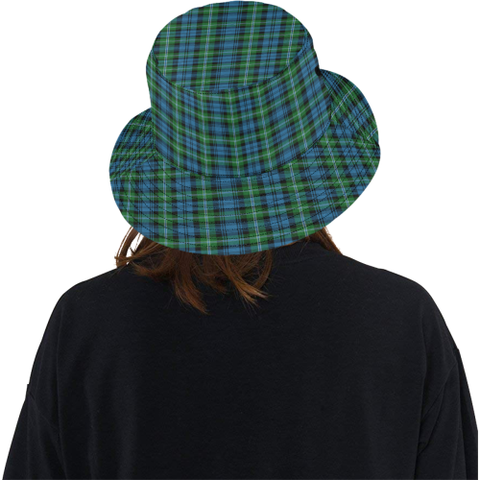 Lyon Clan Tartan Bucket Hat for Women and Men K7