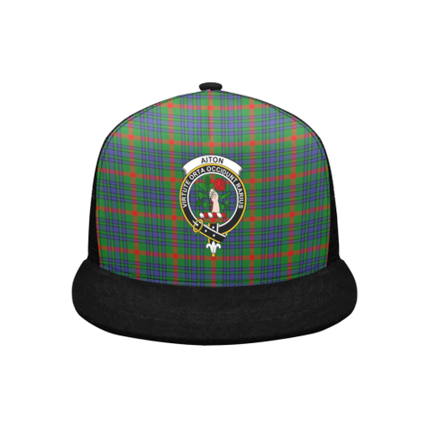 Aiton Tartan Trucker Hat All Over