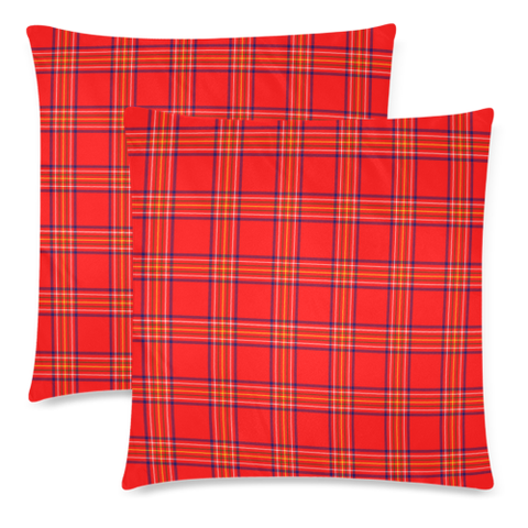 Burnett Modern decorative pillow covers, Burnett Modern tartan cushion covers, Burnett Modern plaid pillow covers