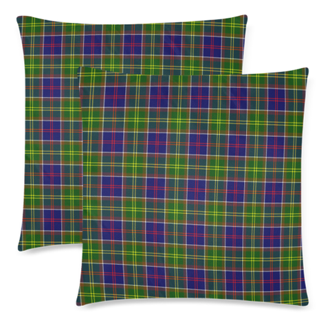 Image of Ayrshire District decorative pillow covers, Ayrshire District tartan cushion covers, Ayrshire District plaid pillow covers