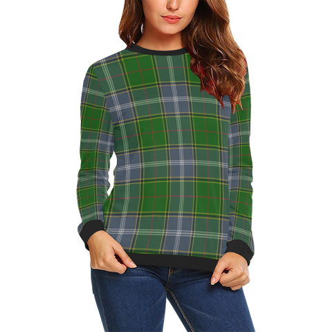 Pringle Tartan Crewneck Sweatshirt TH8