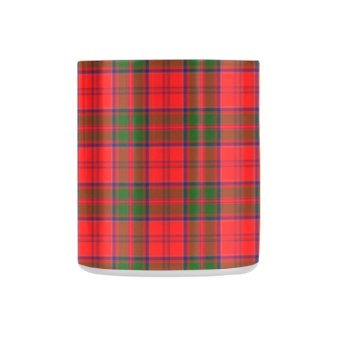 Grant Modern Tartan Mug Classic Insulated - Clan Badge K7