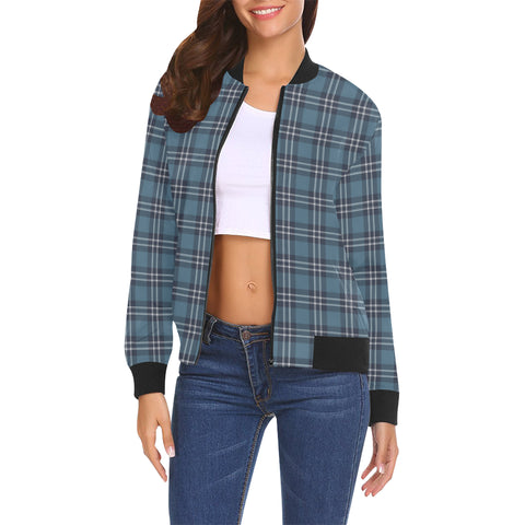 Earl of St Andrews Tartan Bomber Jacket | Scottish Jacket | Scotland Clothing