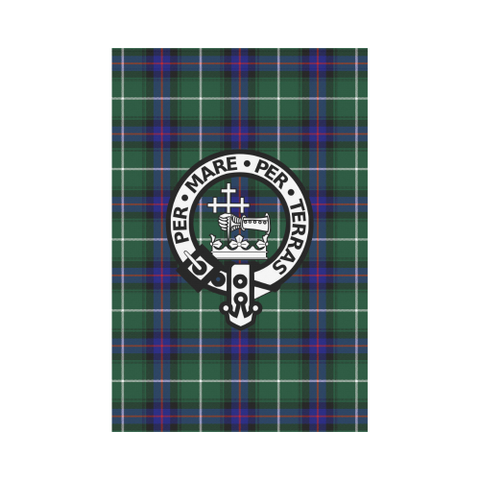 Macdonald Of The Isles Tartan Flag Clan Badge | Scottishclans.co