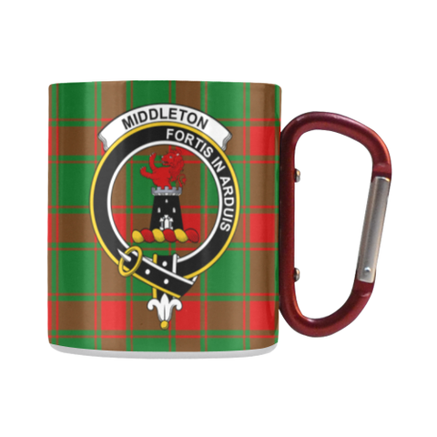 Middleton Modern Tartan Mug Classic Insulated - Clan Badge | scottishclans.co