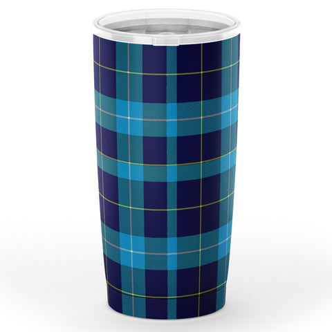 Image of McKerrell Tartan Tumbler, Scottish McKerrell Plaid Insulated Tumbler - BN