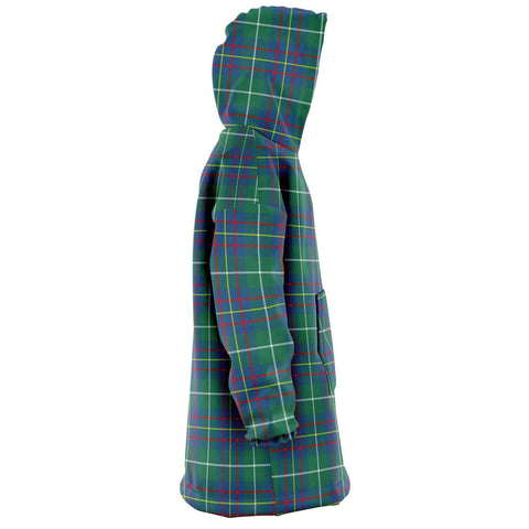 Inglis Ancient Snug Hoodie - Unisex Tartan Plaid Right