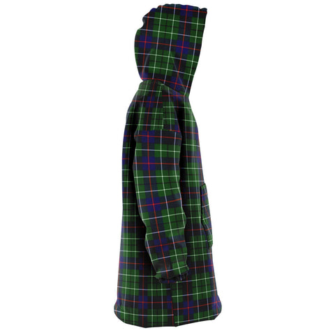 Duncan Modern Snug Hoodie - Unisex Tartan Plaid Right