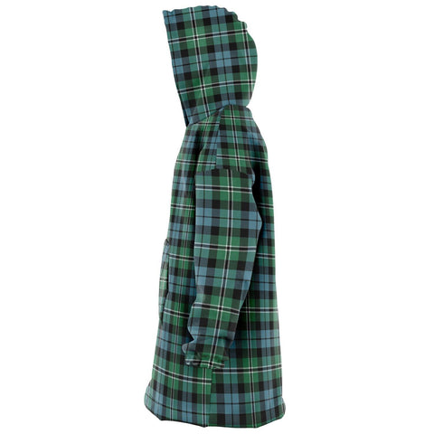 Image of Melville Snug Hoodie - Unisex Tartan Plaid Left