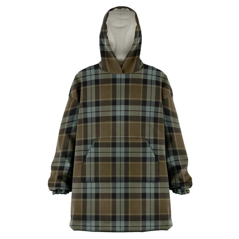 Image of Graham of Menteith Weathered Snug Hoodie - Unisex Tartan Plaid Front