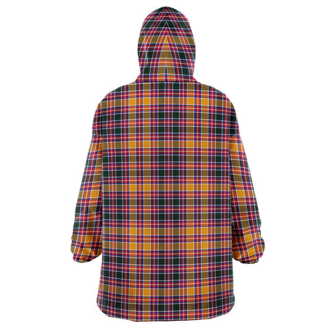 Jacobite Snug Hoodie - Unisex Tartan Plaid Back