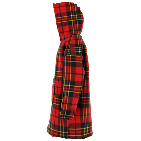 Image of Brodie Modern Snug Hoodie - Unisex Tartan Plaid Left