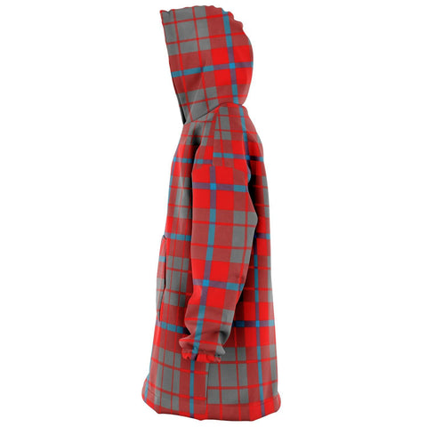 Image of Moubray Snug Hoodie - Unisex Tartan Plaid Left