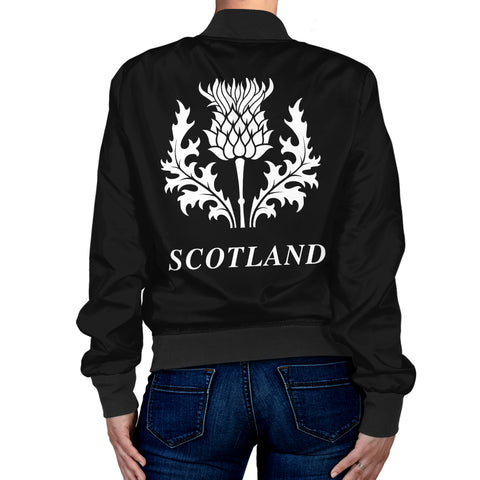 Image of Baillie Tartan Lion & Thistle Women Jacket TH8