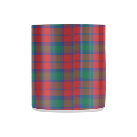 Lindsay Modern Tartan Mug Classic Insulated - Clan Badge K7