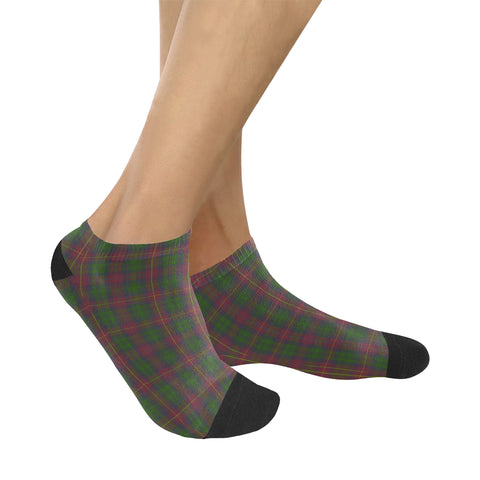 Image of Cairns Tartan Ankle Socks K7