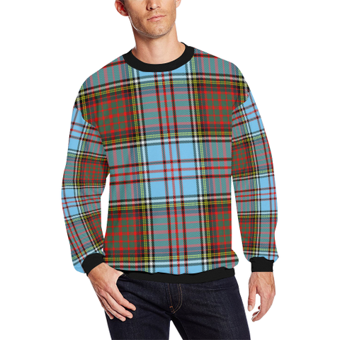 Image of Anderson Ancient Tartan Crewneck Sweatshirt TH8