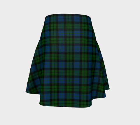 Image of Tartan Flared Skirt - MacKay Modern A9