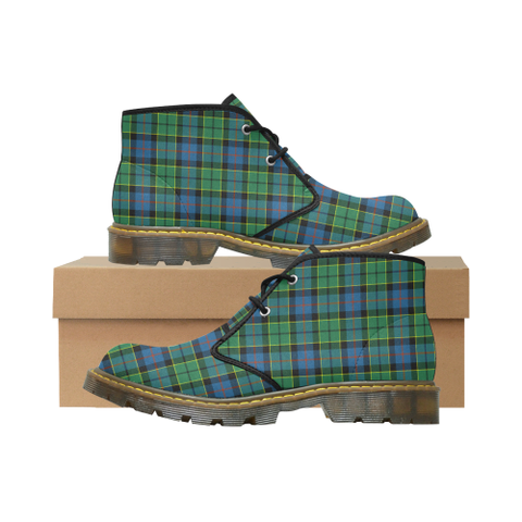 Forsyth Ancient Tartan Chukka Boot | Over 500 Tartans | Special Custom Design | Love Scotland
