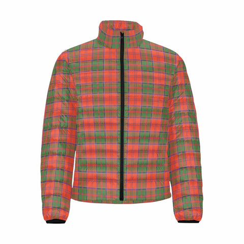 Grant Ancient Clan Scotland Tartan  Men's Lightweight Bomber Jacket K9