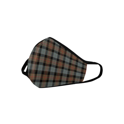 Gunn Weathered Tartan Mouth Mask With Filter | scottishclans.co