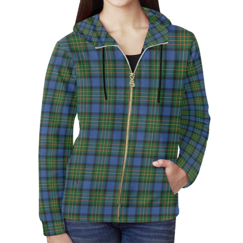 MacLaren Ancient Tartan Zipped Hoodie | Special Custom Products