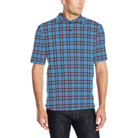 Elliot Ancient  Tartan Polo Shirt