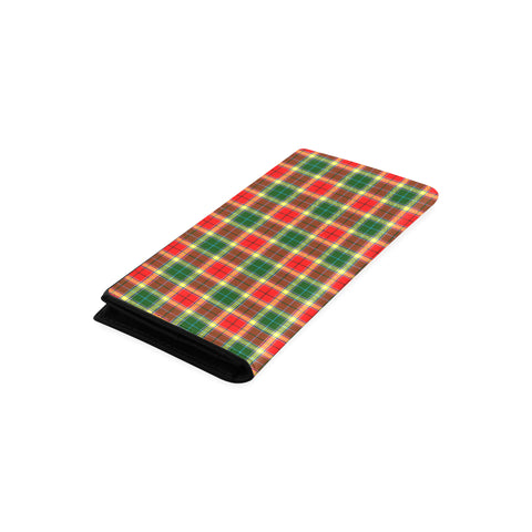 Gibbs Tartan Wallet Women's Leather Thistle A91
