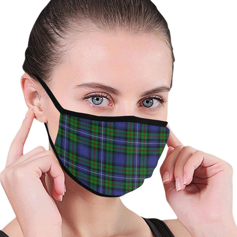 Robertson Hunting Modern Tartan Mouth Mask Inner Pocket K6 (Combo)