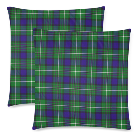 Image of Alexander decorative pillow covers, Alexander tartan cushion covers, Alexander plaid pillow covers
