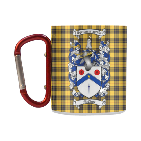McClure Tartan Mug Classic Insulated - Clan Badge K7