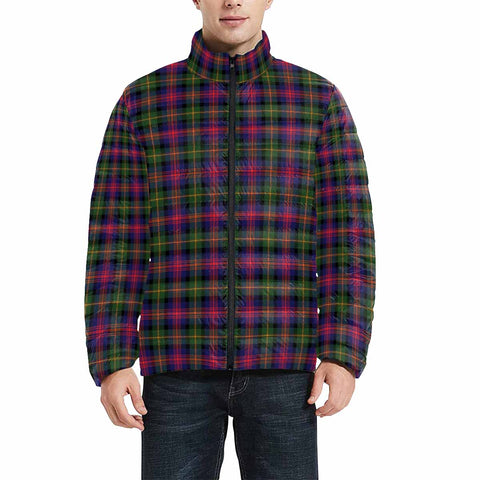 Logan Modern Clan Scotland Tartan  Men's Lightweight Bomber Jacket K9