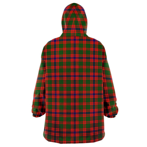 Image of Skene Modern Snug Hoodie - Unisex Tartan Plaid Back