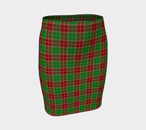 Tartan Fitted Skirt - Baxter Modern | Special Custom Design