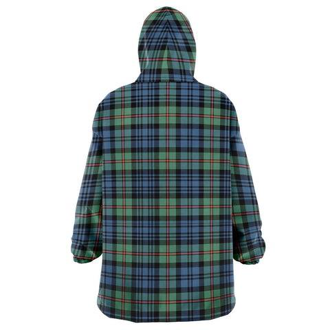 MacKinlay Ancient Snug Hoodie - Unisex Tartan Plaid Back