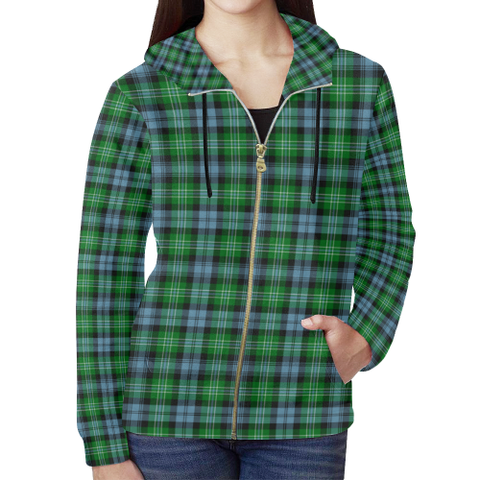 Arbuthnot Ancient Tartan Zipped Hoodie | Special Custom Products