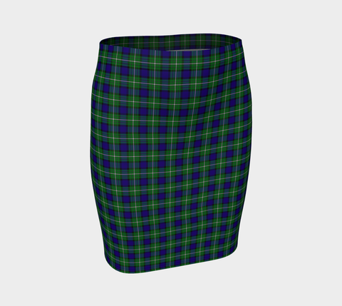 Tartan Fitted Skirt - Alexander | Special Custom Design