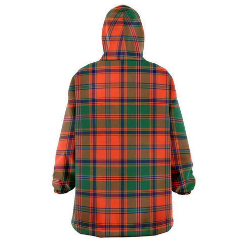 Stewart of Appin Ancient Snug Hoodie - Unisex Tartan Plaid Back