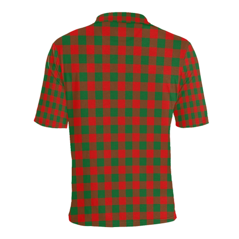 Moncrieffe Tartan Clan Badge Polo Shirt HJ4