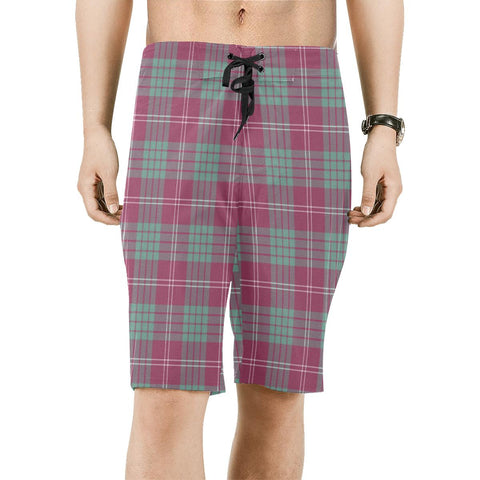 Crawford Ancient Tartan Board Shorts | scottishclans.co