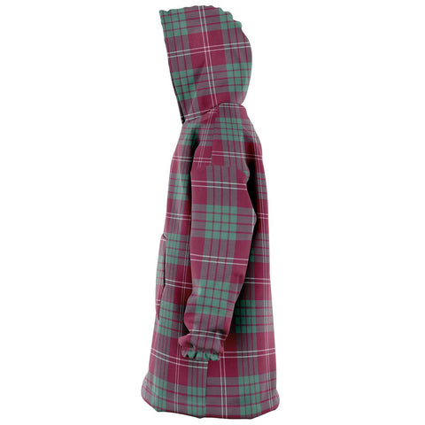 Crawford Ancient Snug Hoodie - Unisex Tartan Plaid Left