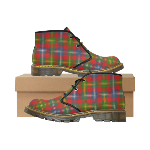 Forrester Tartan Chukka Boot | Over 500 Tartans | Special Custom Design | Love Scotland
