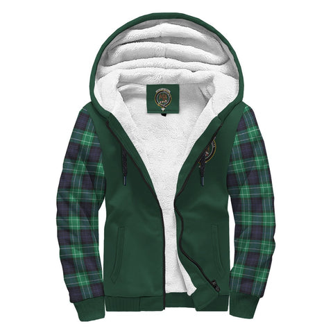 Image of Abercrombie Tartan Sherpa Hoodie | Scottishclans.co