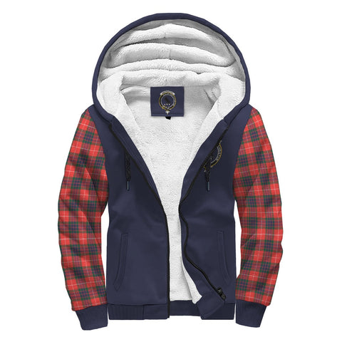 Image of Abernethy Tartan Sherpa Hoodie | Scottishclans.co